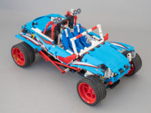 LEGO Technic 42077 B model RC mod upgrade pack