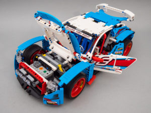 LEGO Technic 42077 Rally Car 2WD RC mod upgrade pack