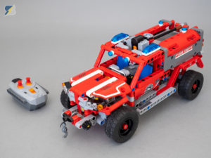 LEGO Technic 42075 First Responder RC mod upgrade pack
