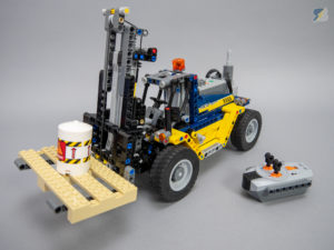 LEGO Technic 42079 Heavy Duty Forklift RC mod upgrade pack
