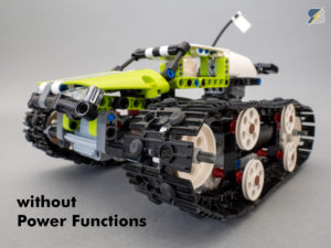 LEGO Technic 42065 RC Tracked Racer upgrade pack without Power Functions upgrade pack