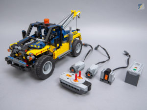LEGO Technic 42079 Tow Truck B model RC mod upgrade pack