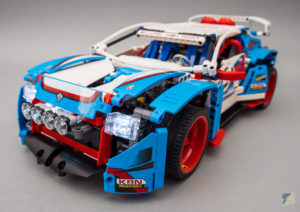 LEGO Technic 42077 Rally Car 4WD RC mod upgrade pack