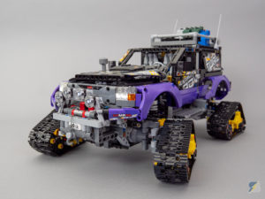 LEGO Technic 42069 Extreme Adventure RC mod upgrade pack