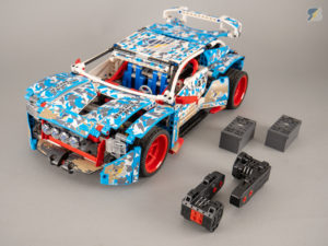 LEGO Technic 42077 Rally Car buggy motor RC mod upgrade pack
