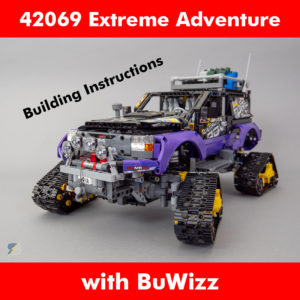 LEGO Technic 42069 Extreme Adventure RC mod building instructions