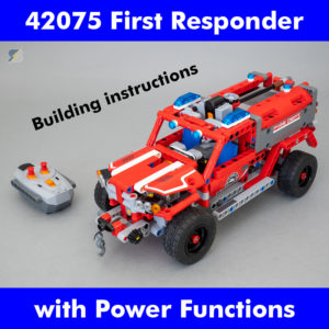 LEGO Technic 42075 First Responder RC mod building instructions