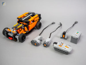 42093 Hot Rod (B model) RC mod